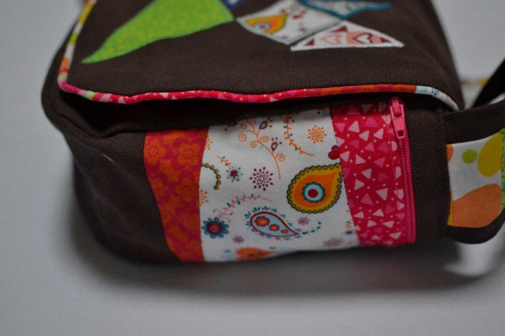 poche patchwork cote sac
