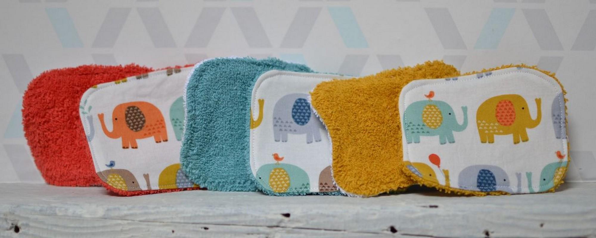 Kit de naissance éléphants multicolores #DDM70