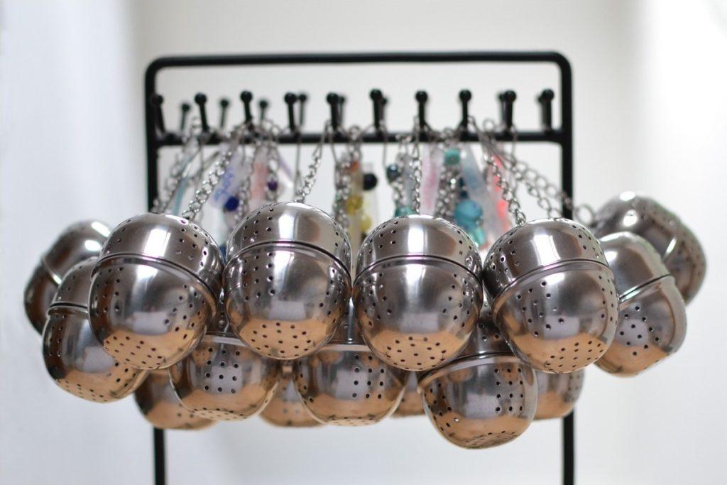 boules à thé personnalisées