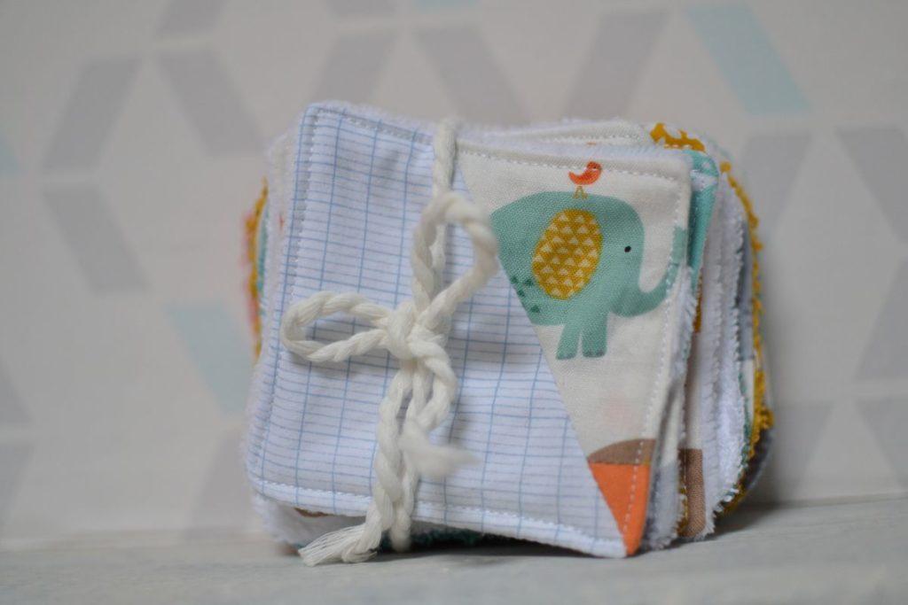 lot de lingettes kit de naissance