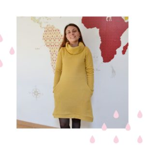 robe pull cocon l'usine à bulle jaune moutarde à paillettes qui vous a plu en 2020
