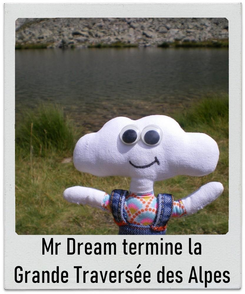 Mr Dream termine la Grande Traversée des Alpes