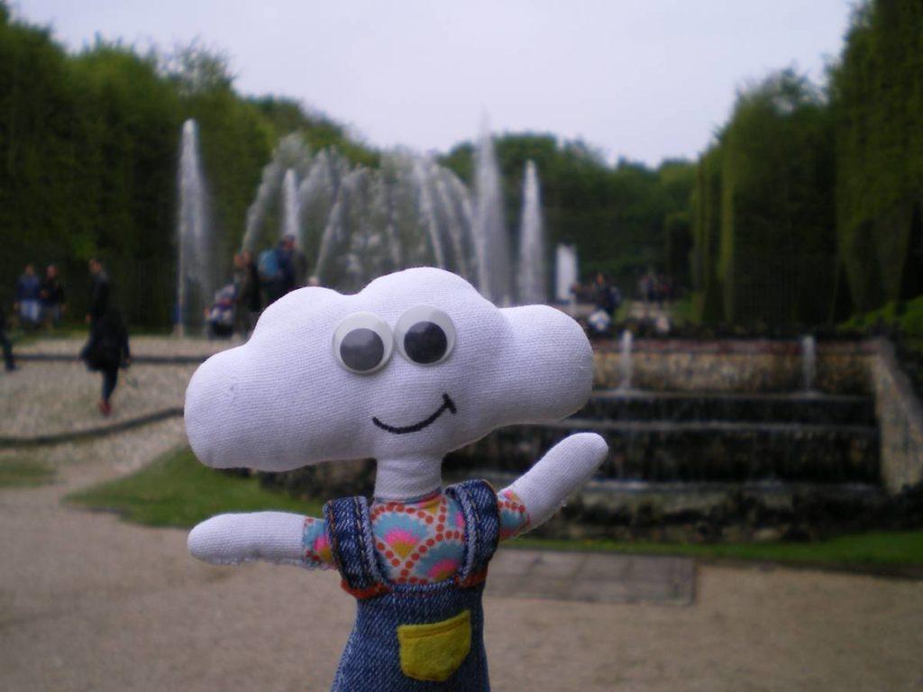 Mr Dream aux grandes eaux musicales de Versailles