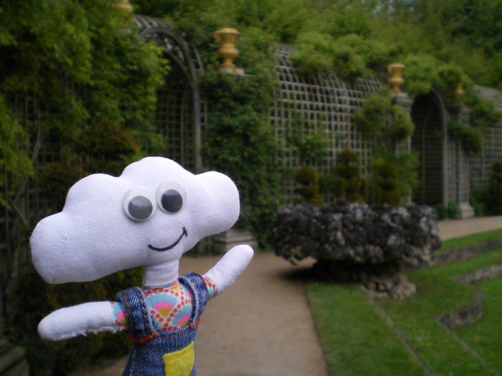 Mr Dream dans les jardins de Versailles
