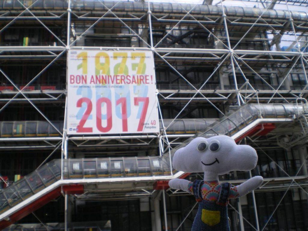 Mr Dream fête l'anniversaire du Centre Beaubourg