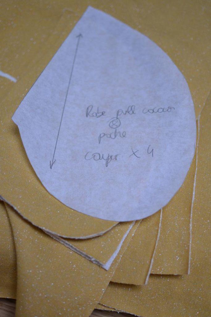 tissu coup pour robe LUAB cocon