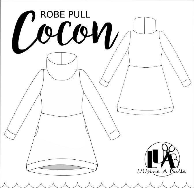 visuel robe pull cocon l'usine à bulle