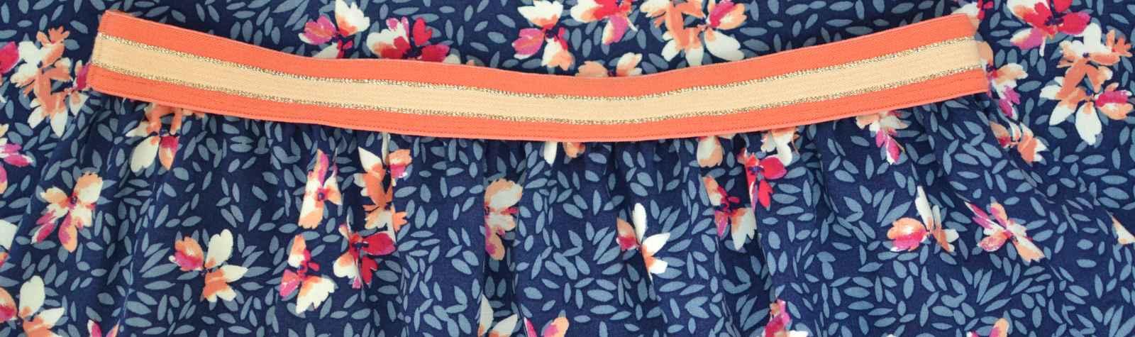 Comment coudre une jupe longue élastiquée fantaisie facilement ?