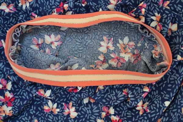 intérieur jupe longue élastiquée fronces