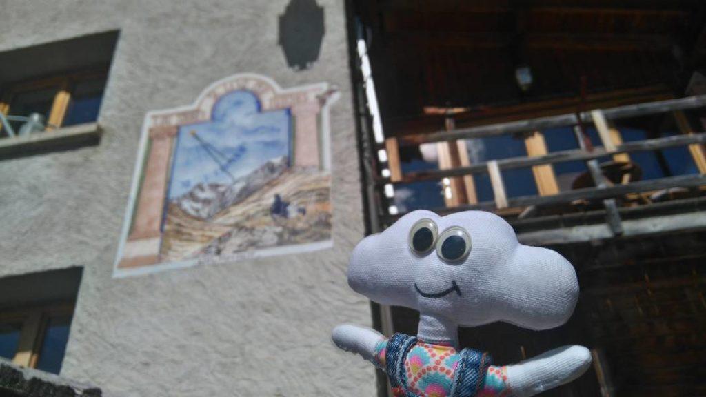 Mr Dream cadran solaire à St Véran