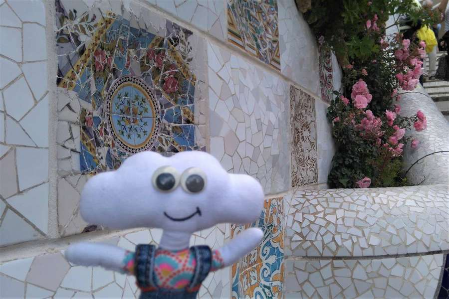 Mr Dream au jardin Güell