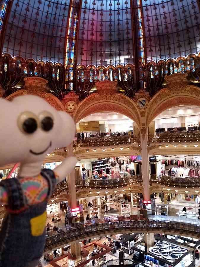 Mr Dream aux galeries lafayette Coupole