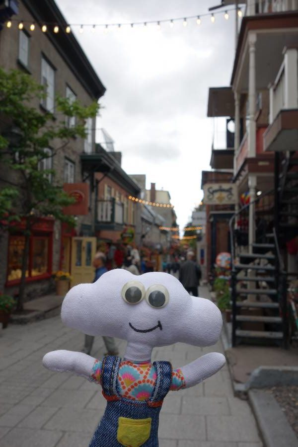 Mr Dream dans le vieux Québec