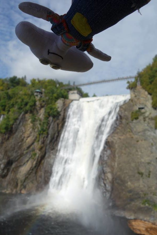 Mr Dream survole les chutes de Montmorency