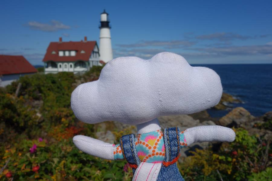 Mr Dream à Portland Head Light