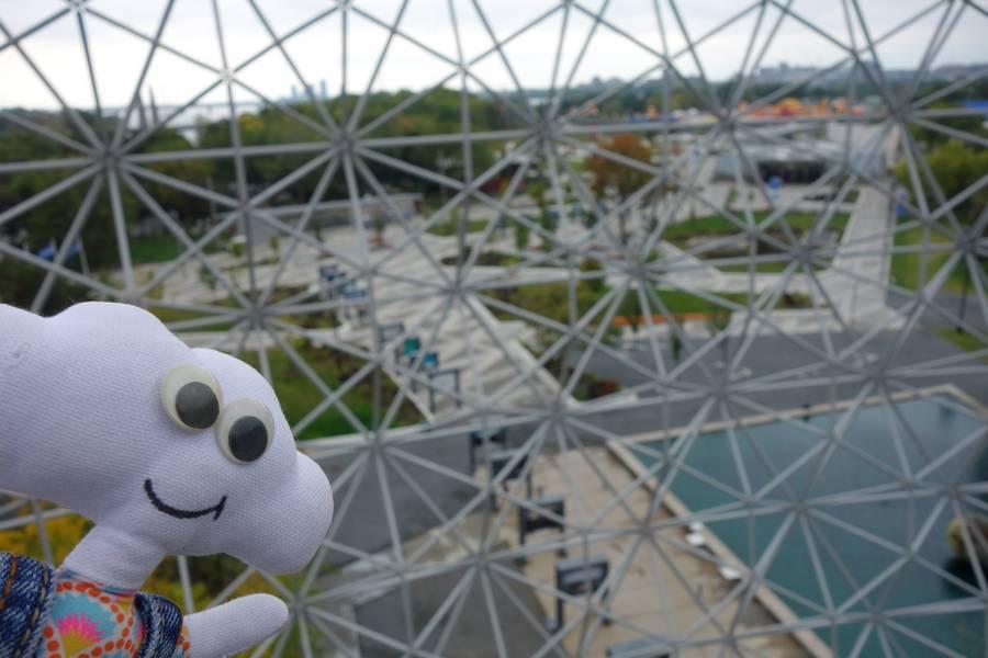 Mr Dream dans la biosphère de Montréal