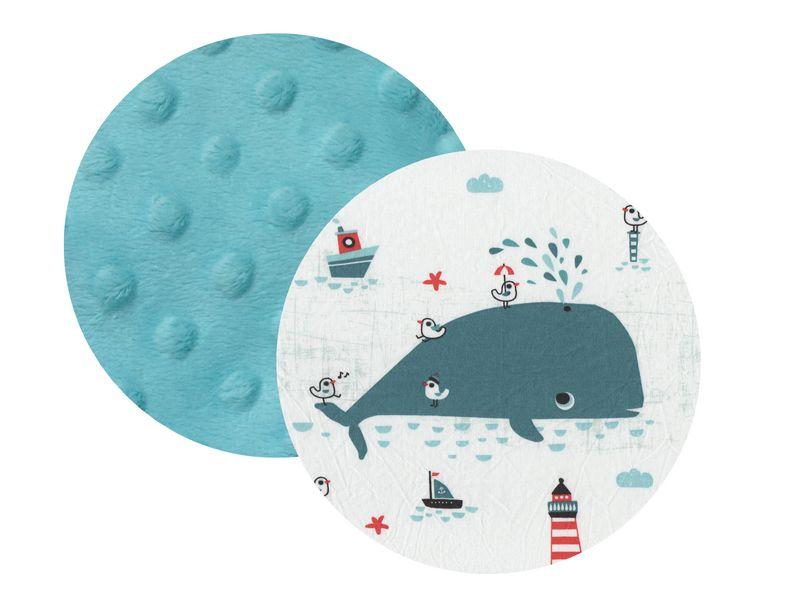 tissu pour doudou étiquettes personnalisé marin