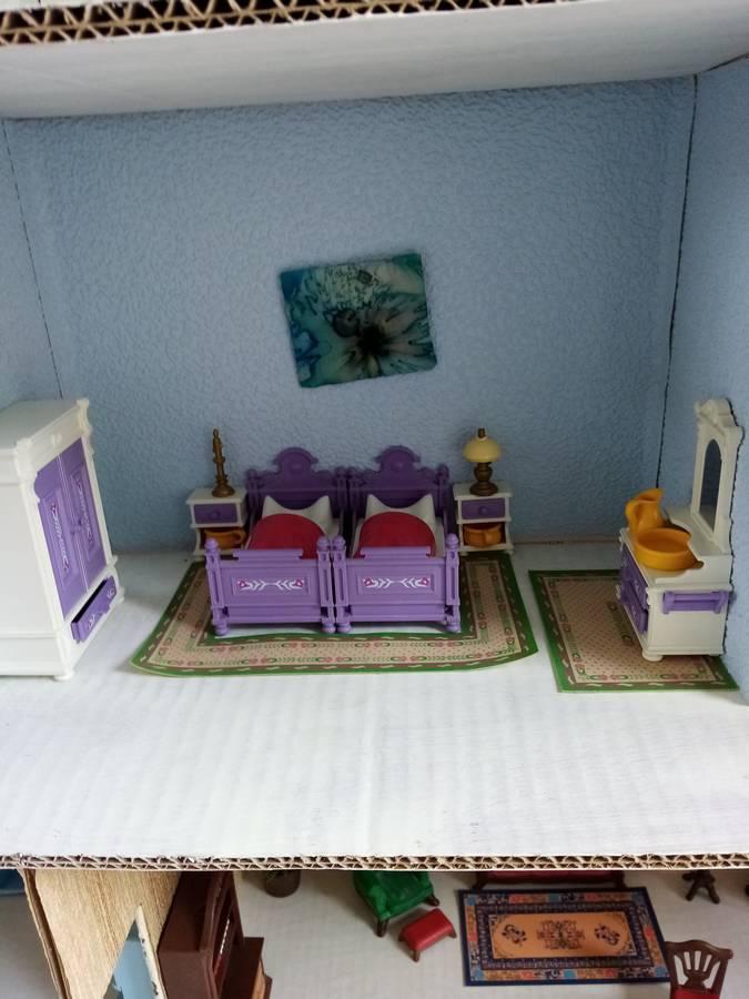 chambre des parents playmobil style ancien