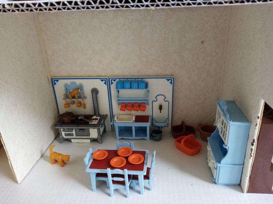 cuisine playmobil style ancien