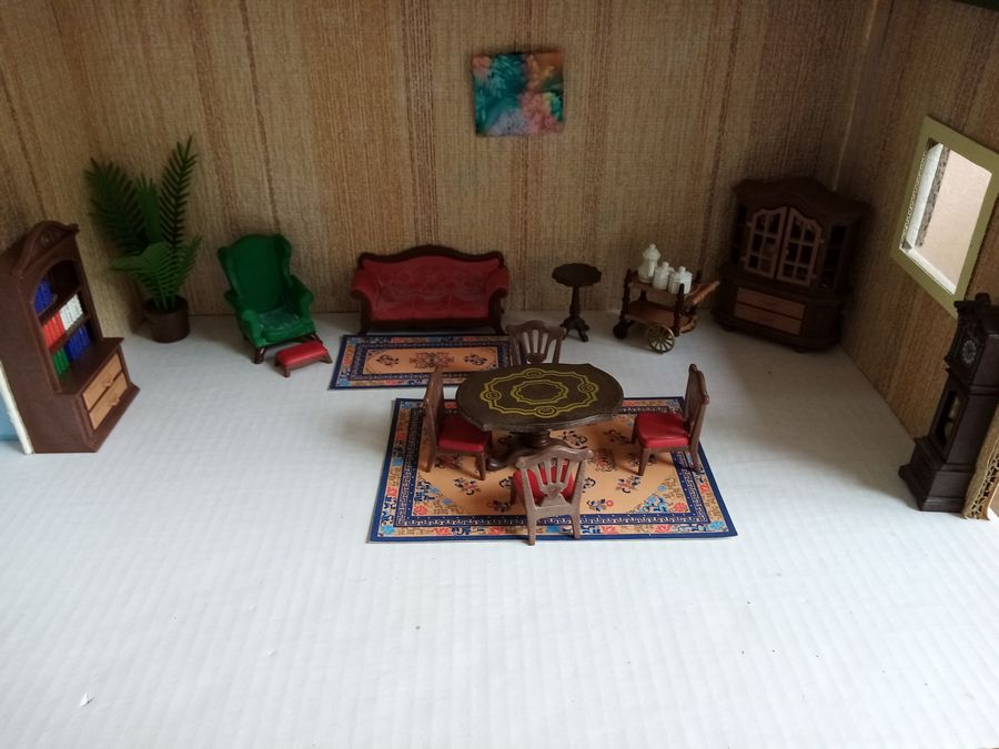 salle à manger playmobil style ancien