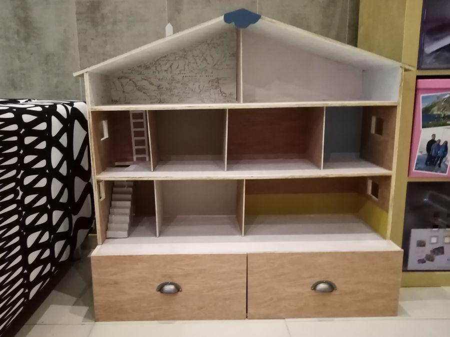 maison playmobil en bois DIY