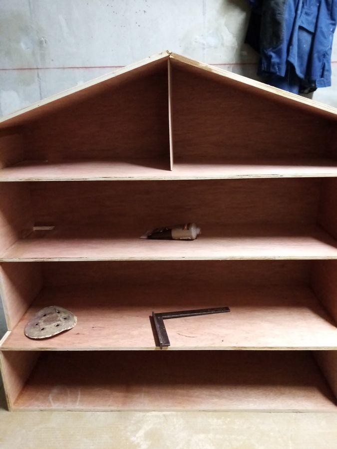 DIY maison Playmobil en bois