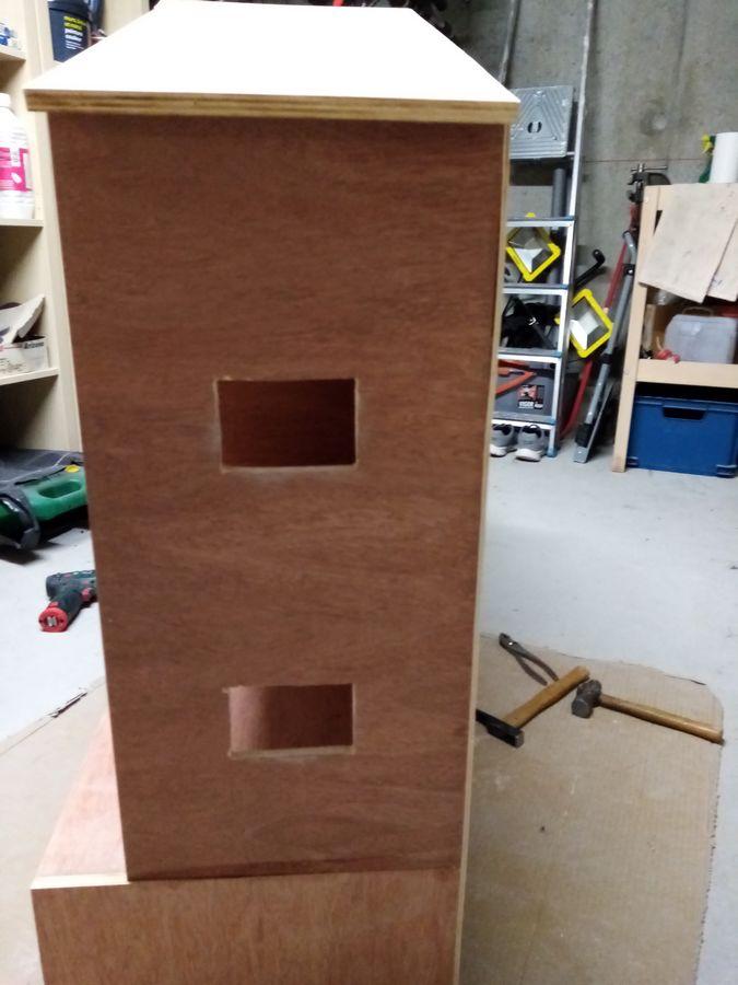 côté maison playmobil en bois
