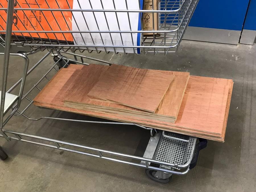 planches de contreplaqué pour maison playmobil DIY