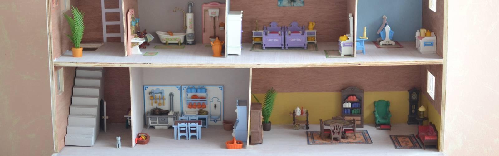DIY : la maison en bois pour les Playmobil de mon enfance