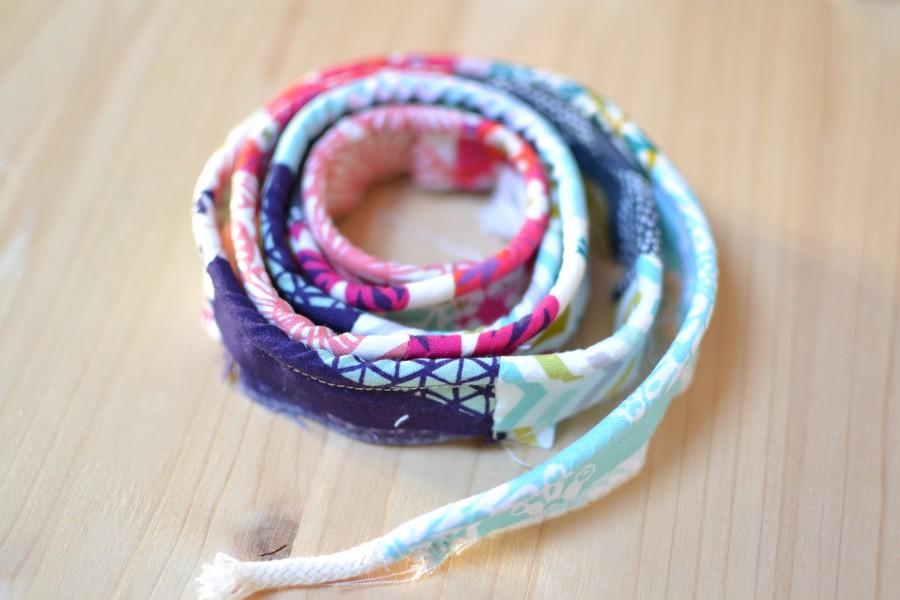 passepoil multicolore pastel